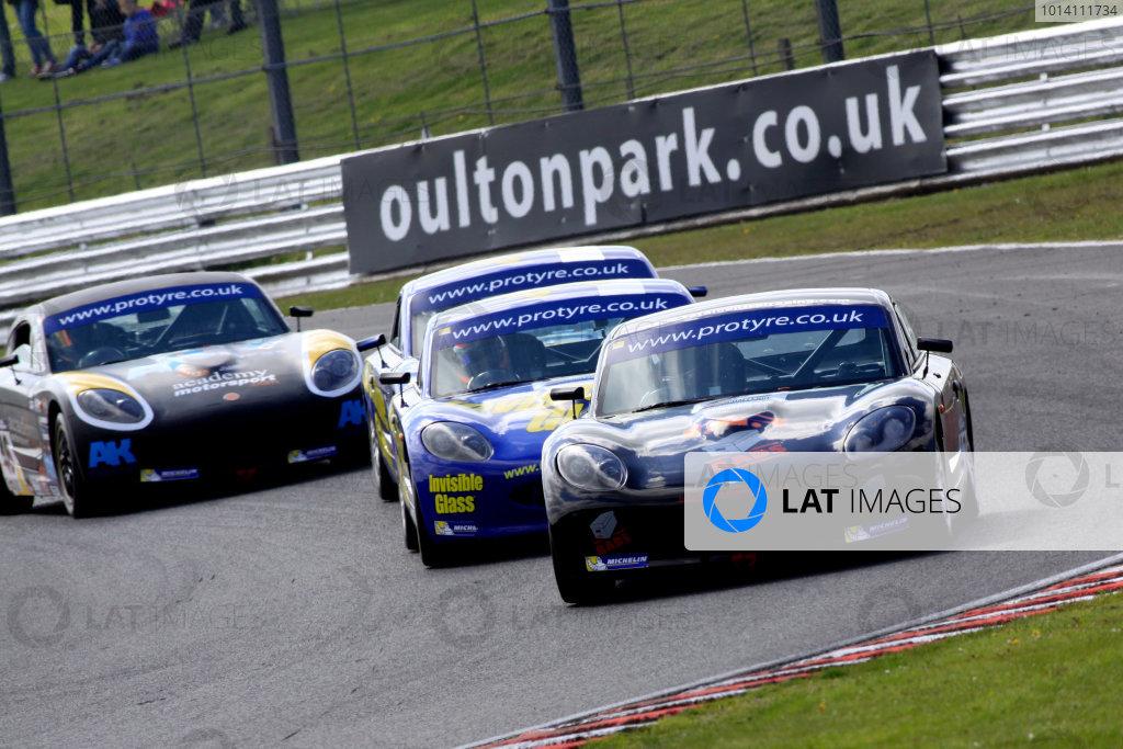 2014 Protyre Motorsport Ginetta GT5 Challenge, Oulton Park, Cheshire. 19th April 2014. George Gamble (GBR) TCR Ginetta G40. World Copyright: Ebrey / LAT Photographic.