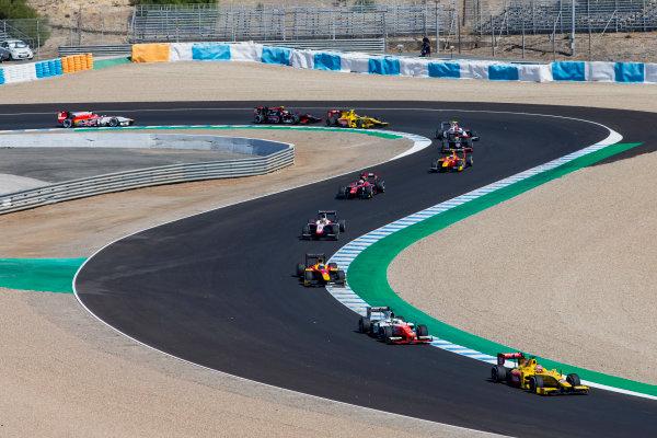 2017 FIA Formula 2 Round 10. Circuito de Jerez, Jerez, Spain. Sunday 8 October 2017. Norman Nato (FRA, Pertamina Arden).  Photo: Zak Mauger/FIA Formula 2. ref: Digital Image _X0W2744