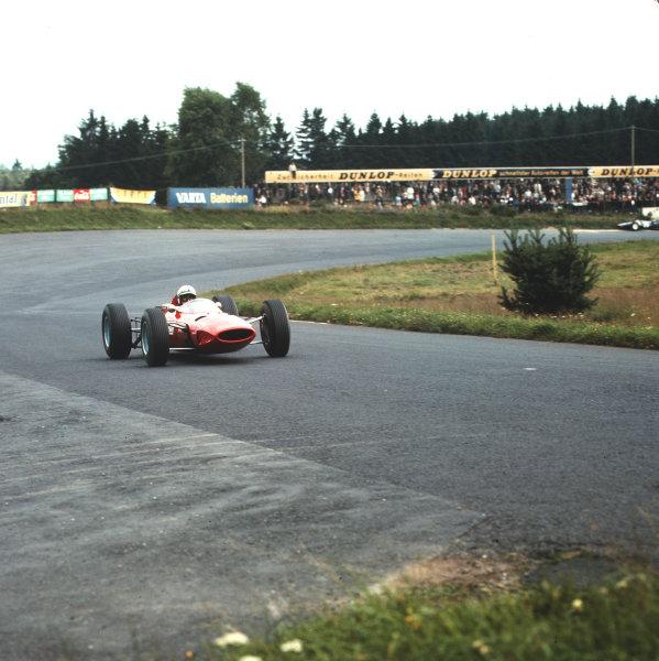 Nurburgring, Germany.30/7-1/8 1965.John Surtees (Ferrari 1512).Ref-3/1813.World Copyright - LAT Photographic
