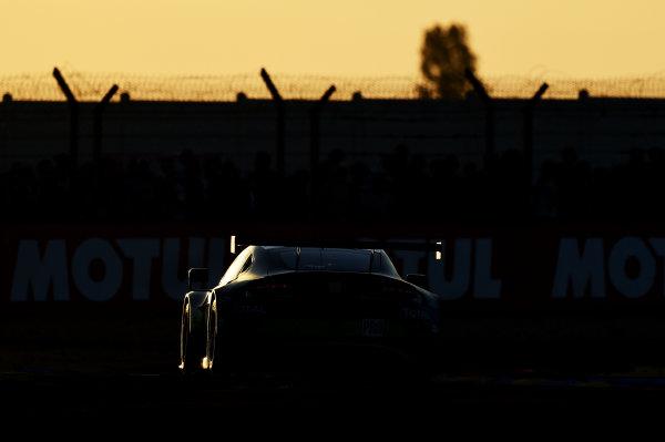 2017 Le Mans 24 Hours Circuit de la Sarthe, Le Mans, France. Saturday 17 June 2017 #97 Aston Martin Racing Aston Martin Vantage: Darren Turner, Jonathan Adam, Daniel Serra World Copyright: Rainier Ehrhardt/LAT Images ref: Digital Image 24LM-re-10549
