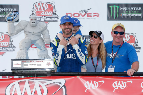 Monster Energy NASCAR Cup Series AAA 400 Drive for Autism Dover International Speedway, Dover, DE USA Sunday 4 June 2017 Jimmie Johnson, Hendrick Motorsports, Lowe's Chevrolet SS World Copyright: Matthew T. Thacker LAT Images ref: Digital Image 17DOV1mt1946