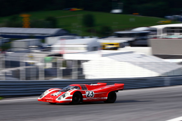 Red Bull Ring, Spielberg, Austria. Saturday 08 July 2017. 1970 Porsche 917 at the legends parade. World Copyright: Andy Hone/LAT Images ref: Digital Image _ONZ1007