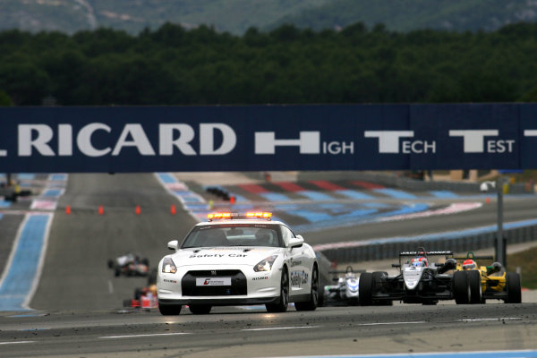 Paul Ricard, France. 15th - 17th July 2011Safety Car in Race 3.World Copyright: Ebrey/LAT Photographic.