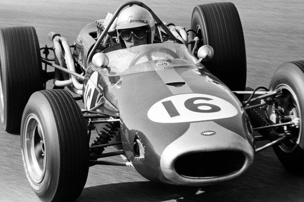 Jack Brabham (AUS) Brabham BT19 made it a hat-trick of victories as he won by over a lap from his nearest rival.  Dutch Grand Prix, Zandvoort, 24 July 1966.