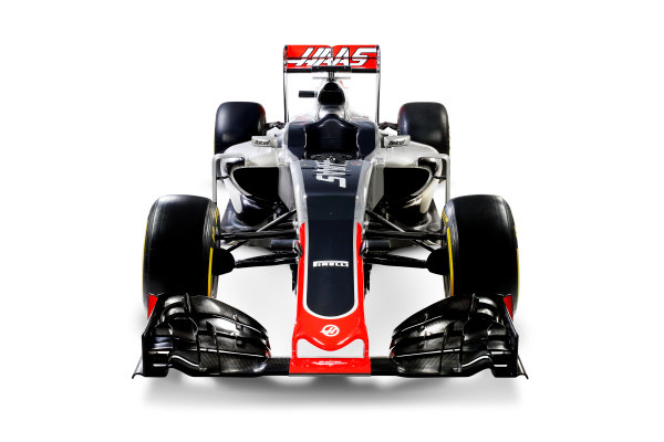 Haas VF-16 Studio Images. Thursday 18 February 2016. Photo: Haas F1 Team (Copyright Free FOR EDITORIAL USE ONLY) ref: Digital Image HAAS_03_TC
