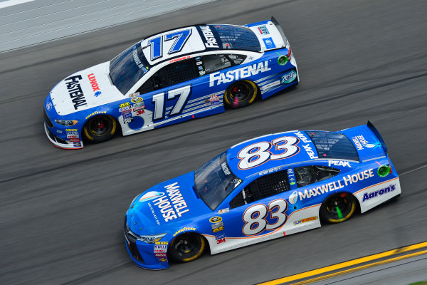 13-21 February, 2016, Daytona Beach, Florida USA Ricky Stenhouse Jr, Michael Waltrip ?2016, Logan Whitton  LAT Photo USA