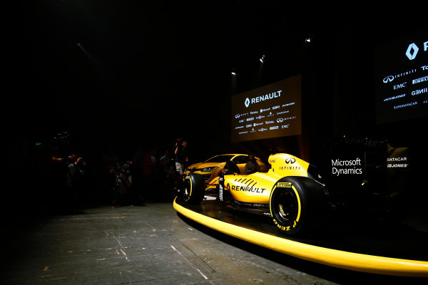 Albert Park, Melbourne, Australia. Wednesday 16 March 2016. The Renault RS16 in its new livery. World Copyright: Andy Hone/LAT Photographic ref: Digital Image _ONY9923