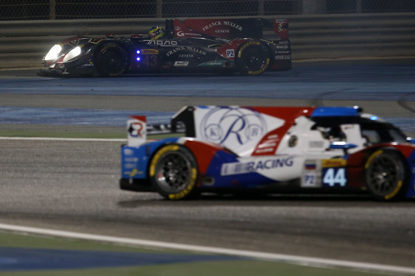 2015 FIA World Endurance Championship, Bahrain International Circuit, Bahrain. 19th - 21st November 2015. Pierre Ragues / Oliver Webb / Christopher Cumming Team Sard Morand Morgan Evo SARD. World Copyright: Jakob Ebrey / LAT Photographic.