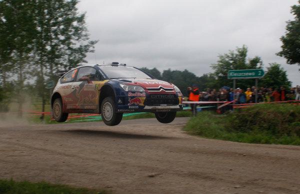 Round 8Rally Poland 200925th - 28th June 2009Sebastien Loeb, Citroen, WRC, ActionWorldwide Copyright: McKlein/LAT
