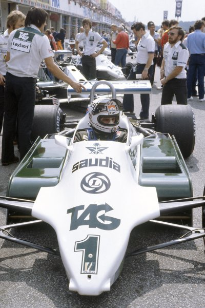 1981 Italian Grand PrixMonza, Italy. 11-13 September 1981.Alan Jones (Williams FW07C-Ford Cosworth), 2nd position. Ref - 81ITA21.World Copyright - LAT Photographic