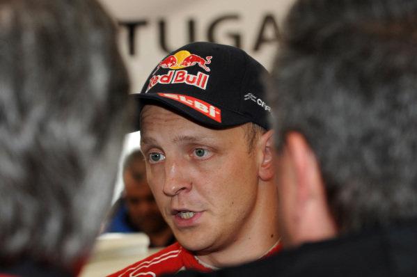 Mikko Hirvonen (FIN), Citroen. FIA World Rally Championship, Rd4, Rally Portugal, Faro, Portugal, Saturday 31 March 2012.