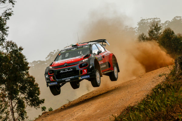 2017 FIA World Rally Championship, Round 13, Rally Australia 2017, 16-19 November 2017, Craig Breen, Citroen, action, Worldwide Copyright: LAT/McKlein