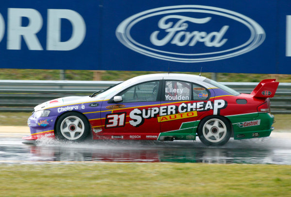 2003 Australian V8 Supercars, Round 9, Sandown, 14th Sep 2003.Ford drivers Steve Ellery and Luke Youlden finished second in the Betta Electrical 500 held at Melbournes Sandown International Raceway today.Photo: Mark Horsburgh/LAT Photographic