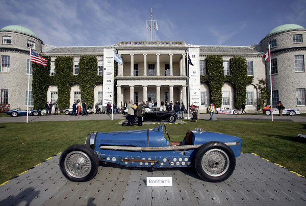 2005 Goodwood Festival of Speed Press DayGoodwood, England. 16th March 2005A Bugatti on display.World Copyright: Gary Hawkins/LAT Photographicref: Digital Image Only