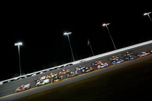 21-22 February, 2013, Daytona Beach, Florida, USA Subject:  Todd Bodine leads.(c) 2013, Michael L. Levitt LAT Photo USA