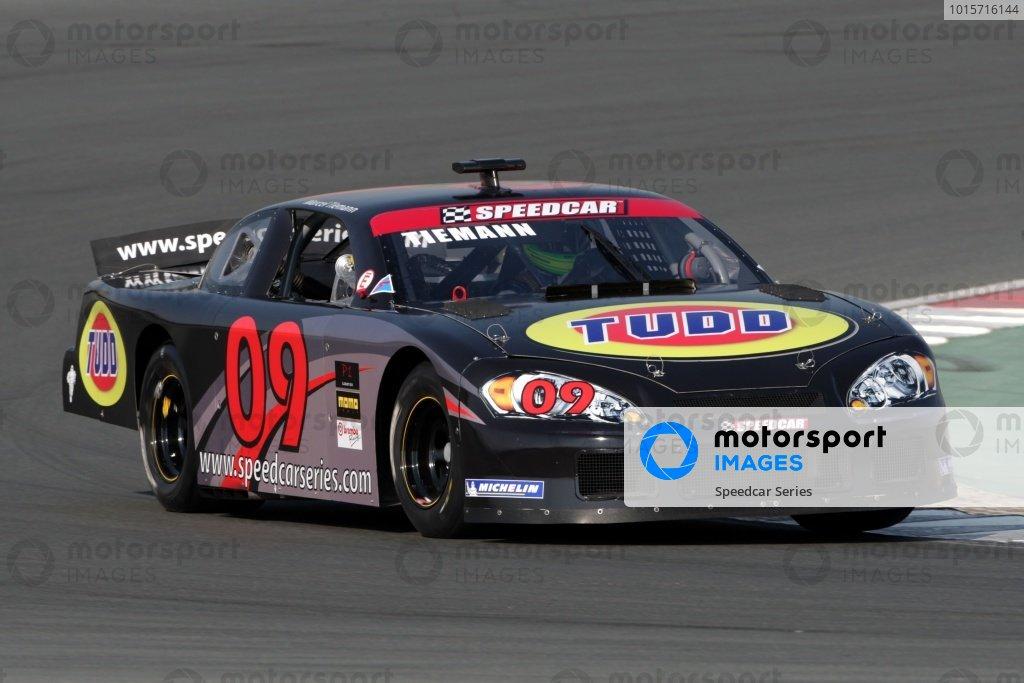 Marcel Tiemann (GER) Dubai. Speedcar Series 2008-09, Rd1, Dubai Autodrome, Dubai, United Arab Emirates, 5 December 2008.