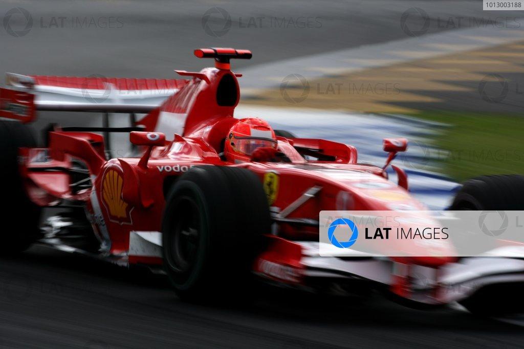 2006 Brazilian Grand Prix - Friday Practice