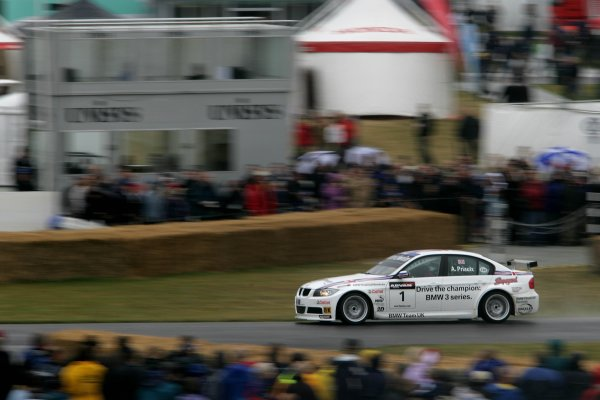 2006 Goodwood Festival of Speed.Goodwood Estate, West Sussex. 7th - 9th July 2006.Andy Priaulx WTCC BMW 320iWorld Copyright: Gary Hawkins/LAT Photographic.ref: Digital Image Only.