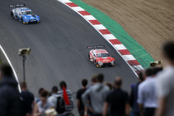 Loic Duval, Audi Sport Team Phoenix, Audi RS 5 DTM, Philipp Eng, BMW Team RBM, BMW M4 DTM.