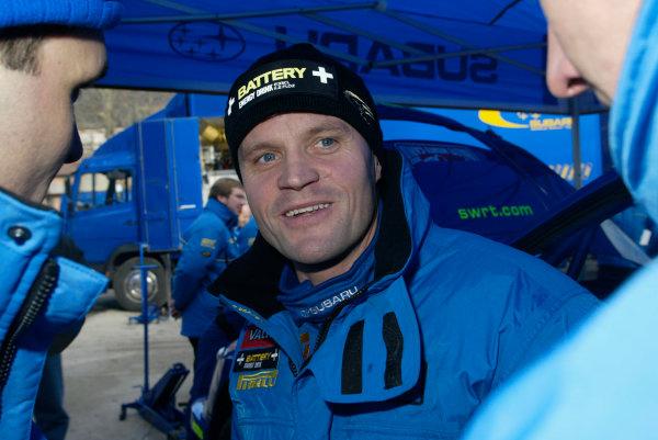 2003 FIA World Rally Championship. Monte Carlo, Monaco. Rd1.23-26 January 2003.Tommi Makinen (Subaru).World Copyright:www.mcklein de/LAT Photographicref: Digital Image