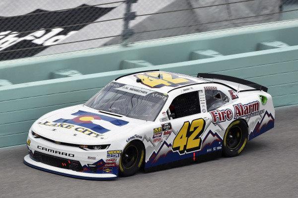#42: John Hunter Nemechek, Chip Ganassi Racing, Chevrolet Camaro Fire Alarm Services, Inc.