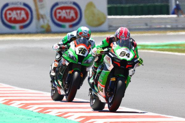 Loris Cresson, TPR Team Pedercini Racing, Samuele Cavalieri, TPR Team Pedercini Racing.