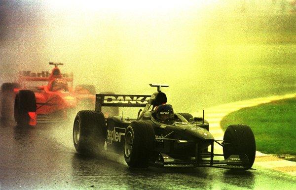 1998 Belgian Grand Prix.Spa-Francorchamps, Belgium. 28-30 August 1998.Pedro Diniz (Arrows A19) 5th position.World Copyright - LAT Photographic