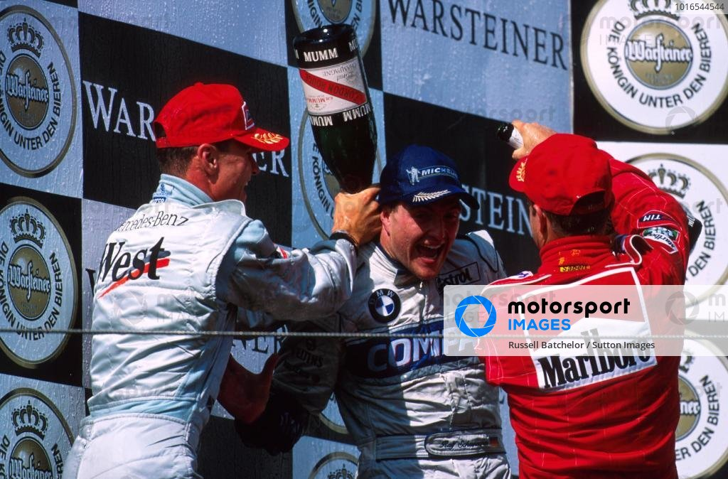 Podium and results: