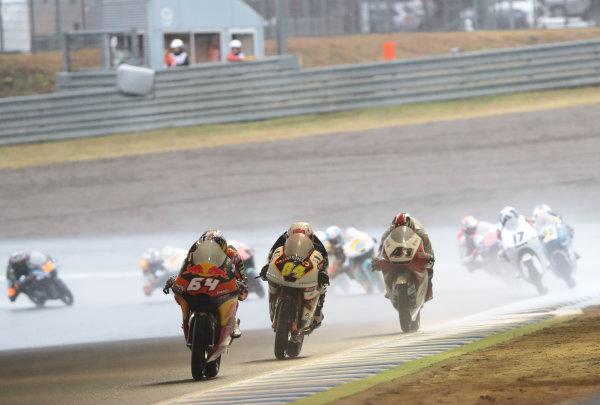 2017 Moto3 Championship - Round 15 Motegi, Japan. Sunday 15 October 2017 Bo Bendsneyder, Red Bull KTM Ajo World Copyright: Gold and Goose / LAT Images ref: Digital Image 22668