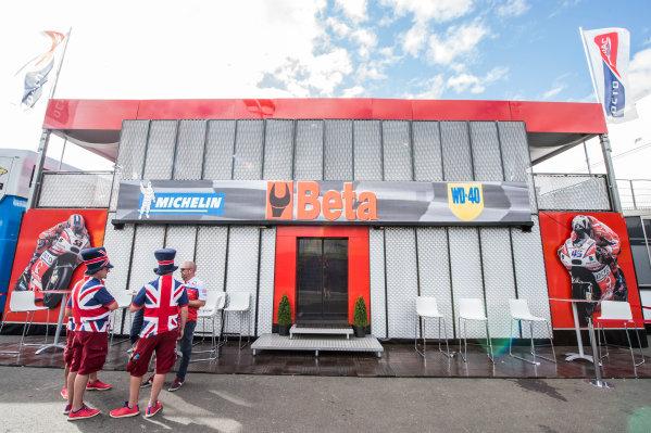 2017 MotoGP Championship - Round 11 Spielberg, Austria Sunday 13 August 2017 Pramac hospitality World Copyright: Gold and Goose / LAT Images ref: Digital Image 687086
