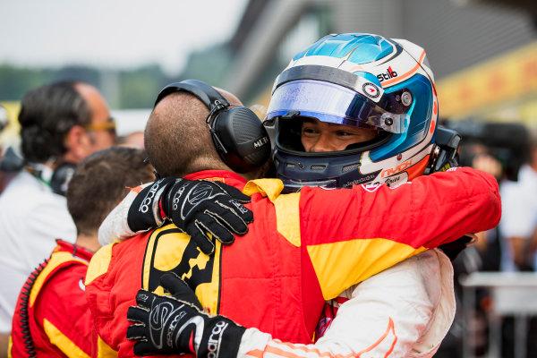 2017 FIA Formula 2 Round 8. Spa-Francorchamps, Spa, Belgium. Sunday 27 August 2017. Nyck De Vries (NED, Racing Engineering).  Photo: Zak Mauger/FIA Formula 2. ref: Digital Image _56I3496