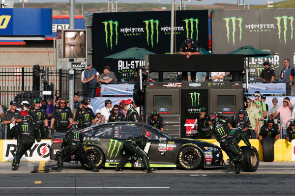 Monster Energy NASCAR Cup Series Monster Energy NASCAR All-Star Race Charlotte Motor Speedway, Concord, NC USA Friday 19 May 2017 Kurt Busch, Stewart-Haas Racing, Monster Energy Ford Fusion World Copyright: Matthew T. Thacker LAT Images ref: Digital Image 17CLT1mt1404