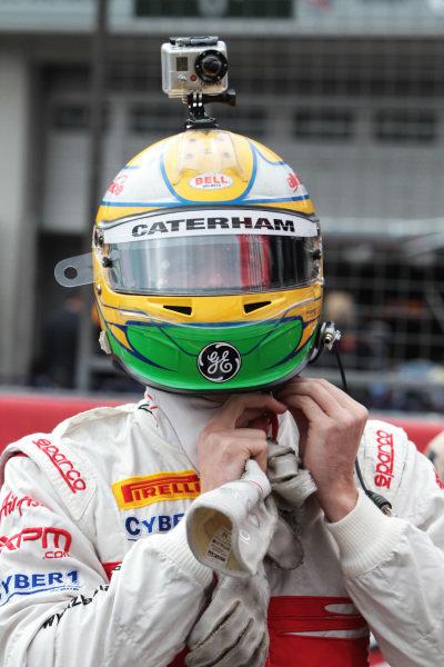 Luiz Razia (BRA) Team Air Asia. Formula One World Championship, Rd 10, German Grand Prix, Preparations, Nurburgring, Germany, Thursday 21 July 2011.