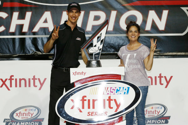 20-21 November, 2015, Homestead, Florida USA Team Penske celebrates winning the Xfinity Series Manufacturer's Championship ?2015, Brett Moist LAT Photo USA