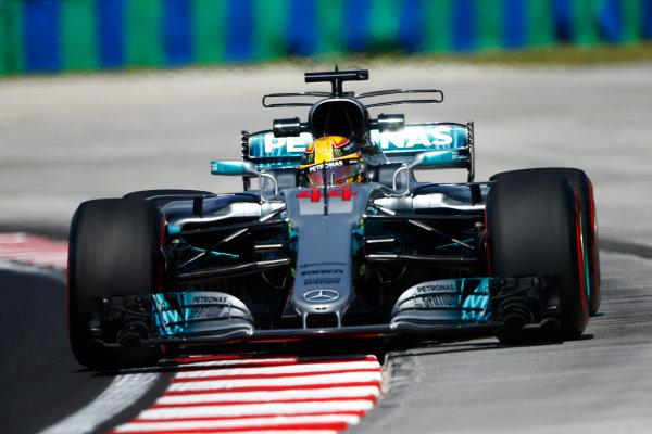 Hungaroring, Budapest, Hungary.  Friday 28 July 2017. Lewis Hamilton, Mercedes F1 W08 EQ Power+.  World Copyright: Andy Hone/LAT Images  ref: Digital Image _ONZ8312