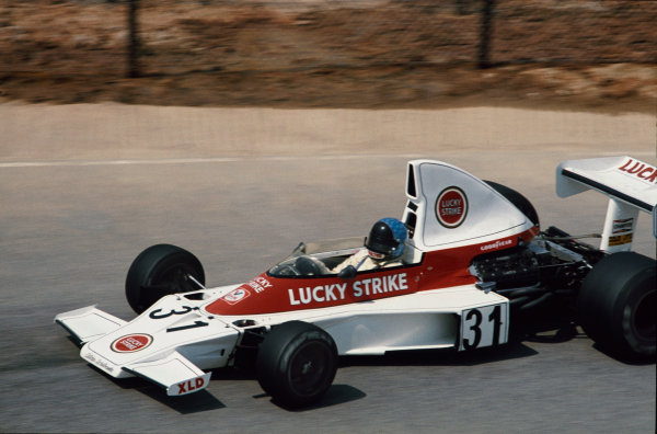 Kyalami, South Africa. 27th February - 1st March 1975.