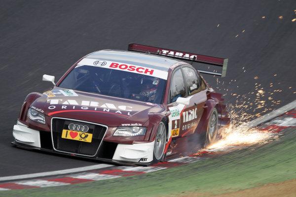 Oliver Jarvis (GBR), Audi Sport Team Abt, Tabac Original Audi A4 DTM (2009).DTM, Rd7, Brands Hatch, England, 3-5 September 2010.World Copyright: LAT Photographicref: dne1004se209