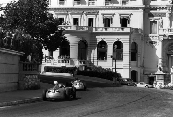 Monte Carlo, Monaco. 22nd May 1955.