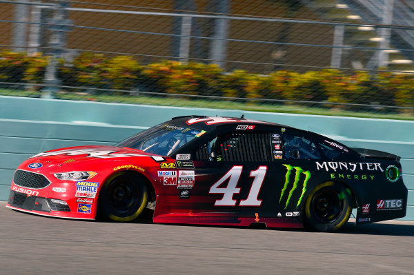 Monster Energy NASCAR Cup Series Ford EcoBoost 400 Homestead-Miami Speedway, Homestead, FL USA Sunday 19 November 2017 Kurt Busch, Stewart-Haas Racing, Haas Automation/Monster Energy Ford Fusion World Copyright: Nigel Kinrade LAT Images