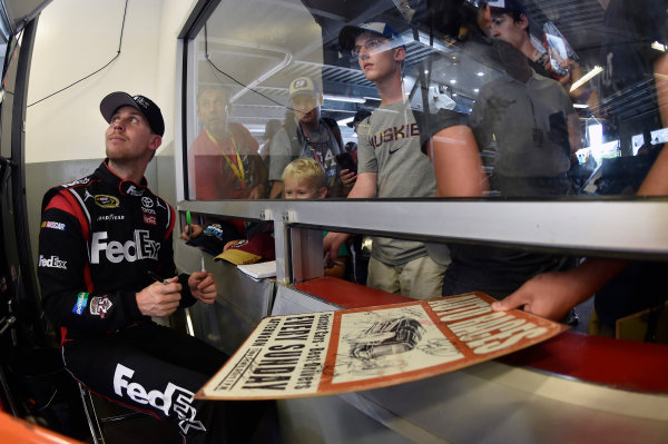30 June-2 July, 2016, Daytona Beach, Florida USA Denny Hamlin, FedEx Toyota Camry ?2016, Nigel Kinrade LAT Photo USA