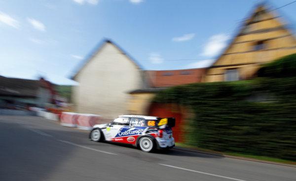 Round 11, Rallye de France 20124th - 7th October 2012Yvan Muller, MINI, actionWorldwide Copyright: McKlein/LAT