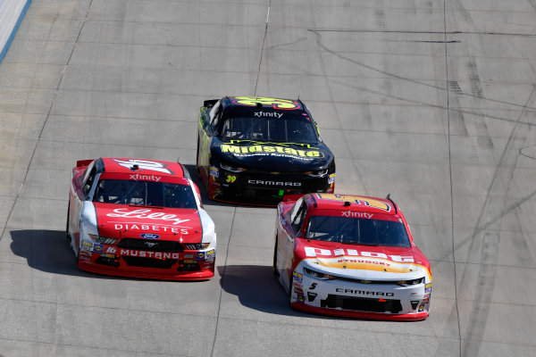 NASCAR XFINITY Series Use Your Melon Drive Sober 200 Dover International Speedway, Dover, DE USA Saturday 30 September 2017 Michael Annett, Pilot Flying J Chevrolet Camaro, Ryan Reed, Lilly Diabetes Ford Mustang, Ryan Sieg, RSS Racing Chevrolet Camaro World Copyright: Logan Whitton LAT Images