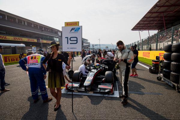 2017 FIA Formula 2 Round 8. Spa-Francorchamps, Spa, Belgium. Sunday 27 August 2017. Roberto Merhi (ESP, Rapax).  Photo: Zak Mauger/FIA Formula 2. ref: Digital Image _54I2880