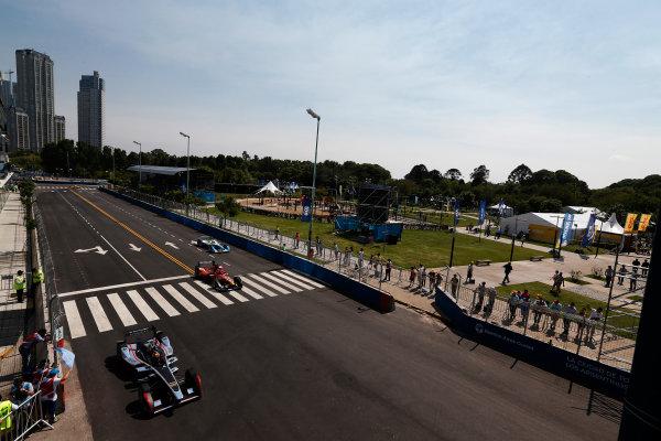 2014 Formula E  Buenos Aires e-Prix, Argentina Saturday 10 January 2015. Oriol Servia (SPA)/Dragon Racing - Spark-Renault SRT_01E  Photo: Sam Bloxham/LAT/Formula E ref: Digital Image _14P7524