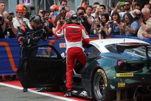 #55 Duncan Cameron / Matthew Griffin / Aaron Scott SPIRIT OF RACE D Ferrari F488 GTE