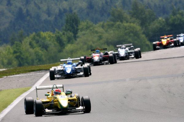 Nurburgring, Germany. 1st - 3rd July 2011.Felipe Nasr (BRA) Carlin Dallara Volkswagen.World Copyright: Ebrey/LAT Photographic.