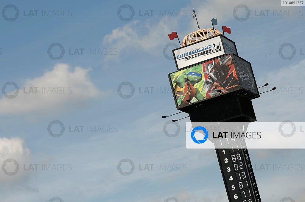 16-18 September, 2016, Joliet, Illinois USA Chicagoland Speedway scoring tower ?2016, Brett Moist LAT Photo USA