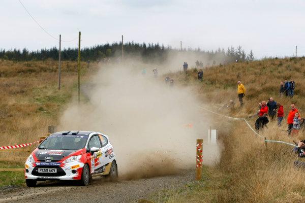 2014 MSA British Rally Championship, Pirelli Carlisle R B Foundation Rally. 3rd - 4th May 2014. Aaron McClure / Elliott Edmondson Ford Fiesta R2. World Copyright: Ebrey / LAT Photographic.