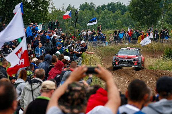 2017 FIA World Rally Championship, Round 08, Rally Poland / June 29 - July 2 2017, Andreas Mikkelsen, Citroen, action, Worldwide Copyright: McKlein/LAT