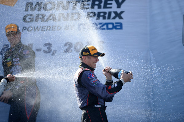 1-3 May, 2015, Monterey, CaliforniaUSA 73, Porsche, 911 GT America, GTD, Patrick Lindsey, Spencer Pumpelly ©2015, Richard Dole LAT Photo USA